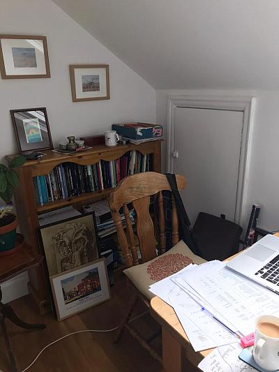 Fig. 2 . The Study. (Image by Maggie O'Neill)